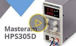 Видеообзор лабораторного блока питания Masteram HPS305D