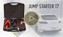 Зимний тест Jump Starter T7 - запуск двигателя с севшим аккумулятором при -20°C