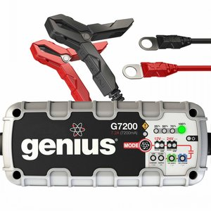Интеллектуальное зарядное устройство G7200EU для 12 В и 24 В аккумуляторов