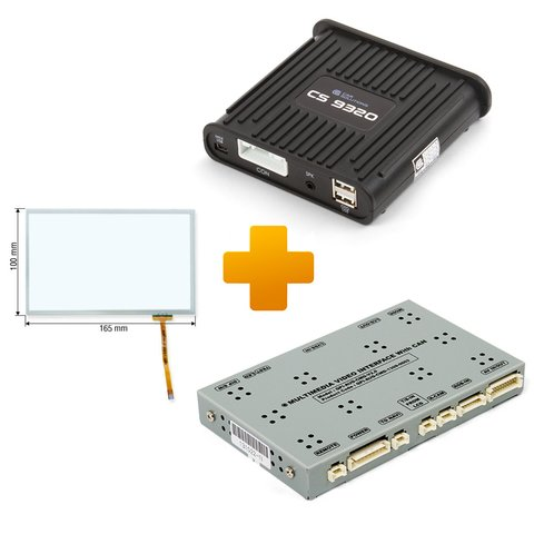 Navigation and Multimedia Kit for Audi MMI 3G Based on CS9320A