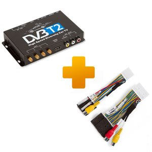 DVB T2 TV Receiver and Connection Cable Kit for Touch, Scion Bespoke Monitors