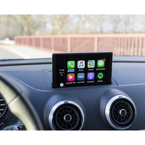 """Apple CarPlay Adapter for Audi Q3 of 2013 2018 MY with 5.8"""" Monitor"""