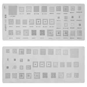 BGA Stencil A90, ((for CPU MTK), 35 in 1)