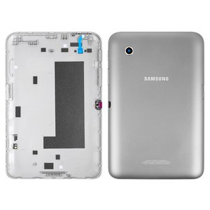 Back Cover for Samsung P3110 Galaxy Tab2  Tablet, (grey, (version Wi-Fi))