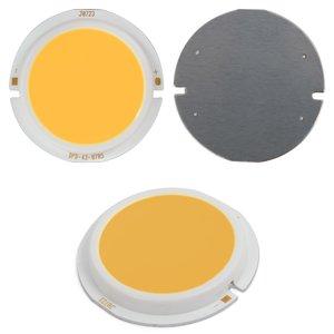 COB LED Chip 7 W (warm white, 450 lm, 43 mm, 300 mA, 15-17 V)