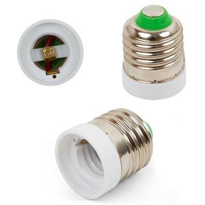 Base Adapter (E27 to E17, white)