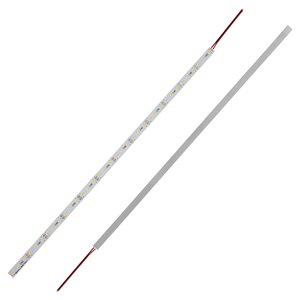 Aluminum Rigid LED Strip, 50 cm, 5630, WW (warm white), 6 W