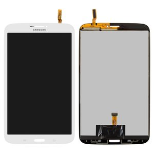 LCD for Samsung T310 Galaxy Tab 3 8.0, T3100 Galaxy Tab 3, T311 Galaxy Tab 3 8.0 3G, T3110 Galaxy Tab 3, T315 Galaxy Tab 3 8.0 LTE Tablets, (version 3G , white, with touchscreen)