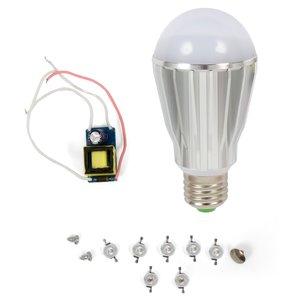 LED Grow Light for Seedlings DIY Kit SQ-Q17 E27 7 W