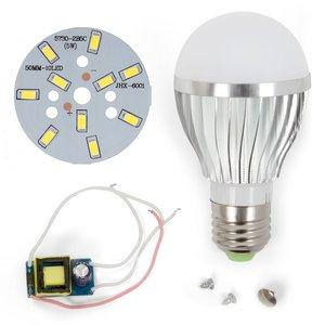 LED Light Bulb DIY Kit SQ-Q02 5730 5 W (cold white, E27)