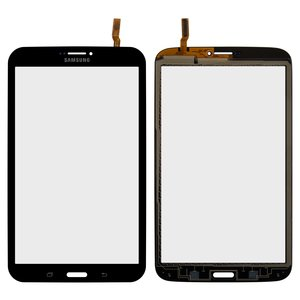 Touchscreen for Samsung T3100 Galaxy Tab 3, T3110 Galaxy Tab 3 Tablets, (black, (version 3G))