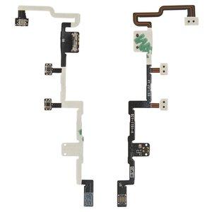 Cable flex para tablet PC Apple iPad 2, de botones laterales, boton de encendido, con componentes, (versión 3G)