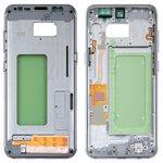 Parte media de carcasa Samsung G950FD Galaxy S8, plateada, arctic silver