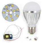 Комплект для сборки светодиодной лампы SQ-Q02 5730 5 Вт (теплый белый, E27), диммируемый