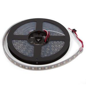 Светодиодная лента RGB SMD5050, WS2812B (c  управлением, IP67, 5 В, 60 диодов/м, 5 м)