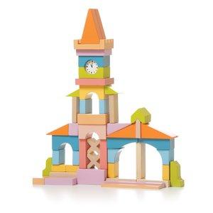 """Juego de construcción CUBIKA """"Torre de reloj"""" LV-1"""