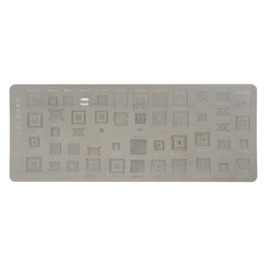 BGA Stencil VIP76 for China-phone universal Cell Phone, (49 in 1)